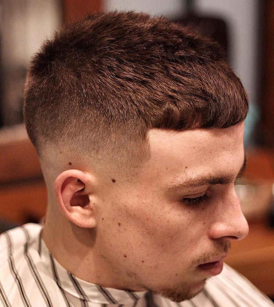 Thegentlemanbarbers_and Super Short Crop Haircut Men
