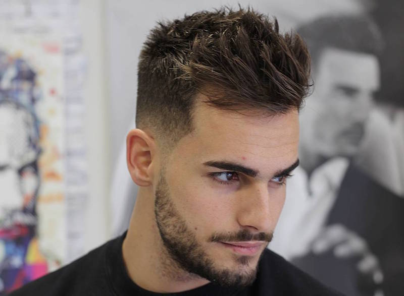 men's hairstyles agusbarber_short textured hair hairstyle for men
