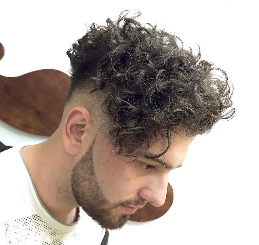 21 New Men S Hairstyles For Curly Hair