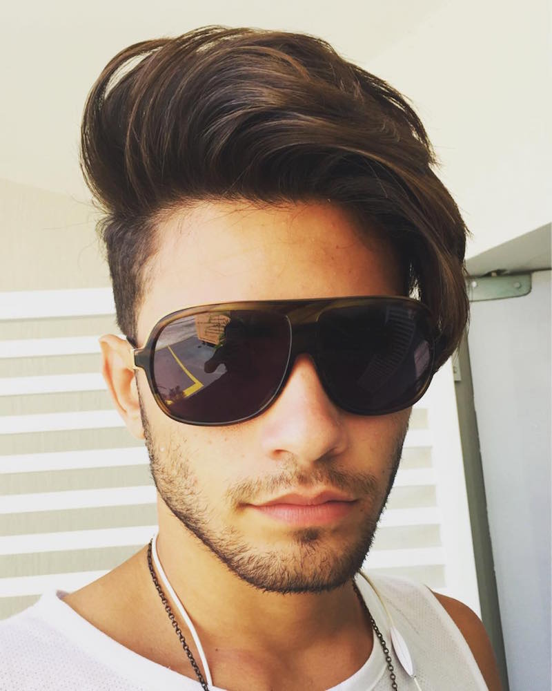 men's hairstyles andre_fonseca123_and long hair top long fringe short sides haircut