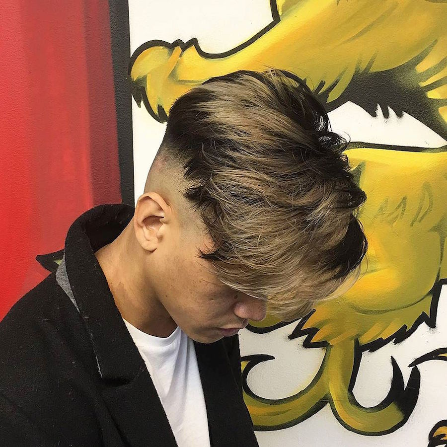 barber_djirlauw_and high fade on both sides long fringe mens hairstyles 2016
