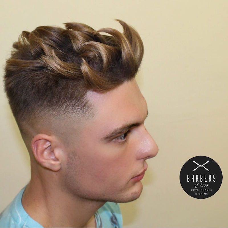 barbersofbt45_and separated textures cool hairstyles men