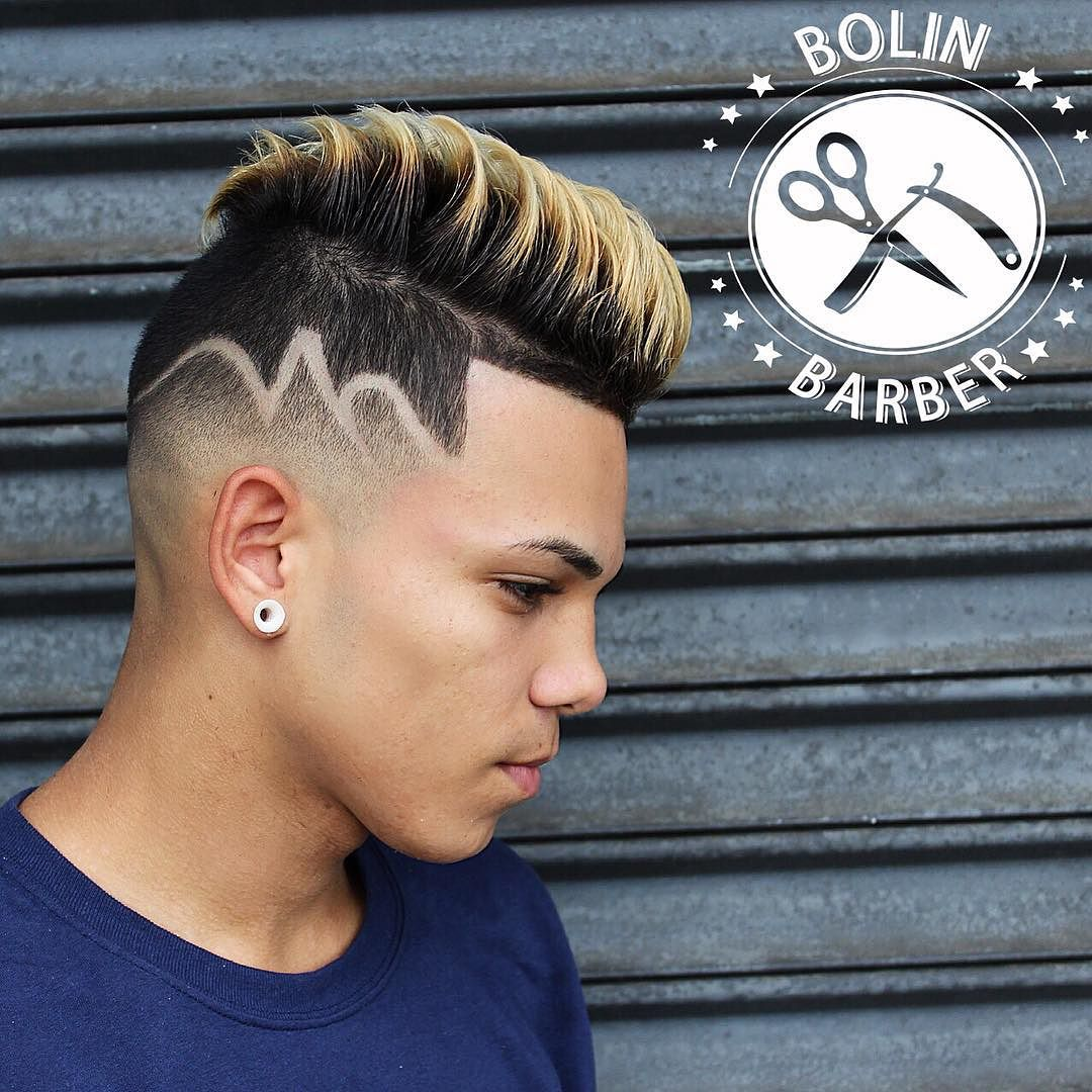 barber hair designs for men - photo #3