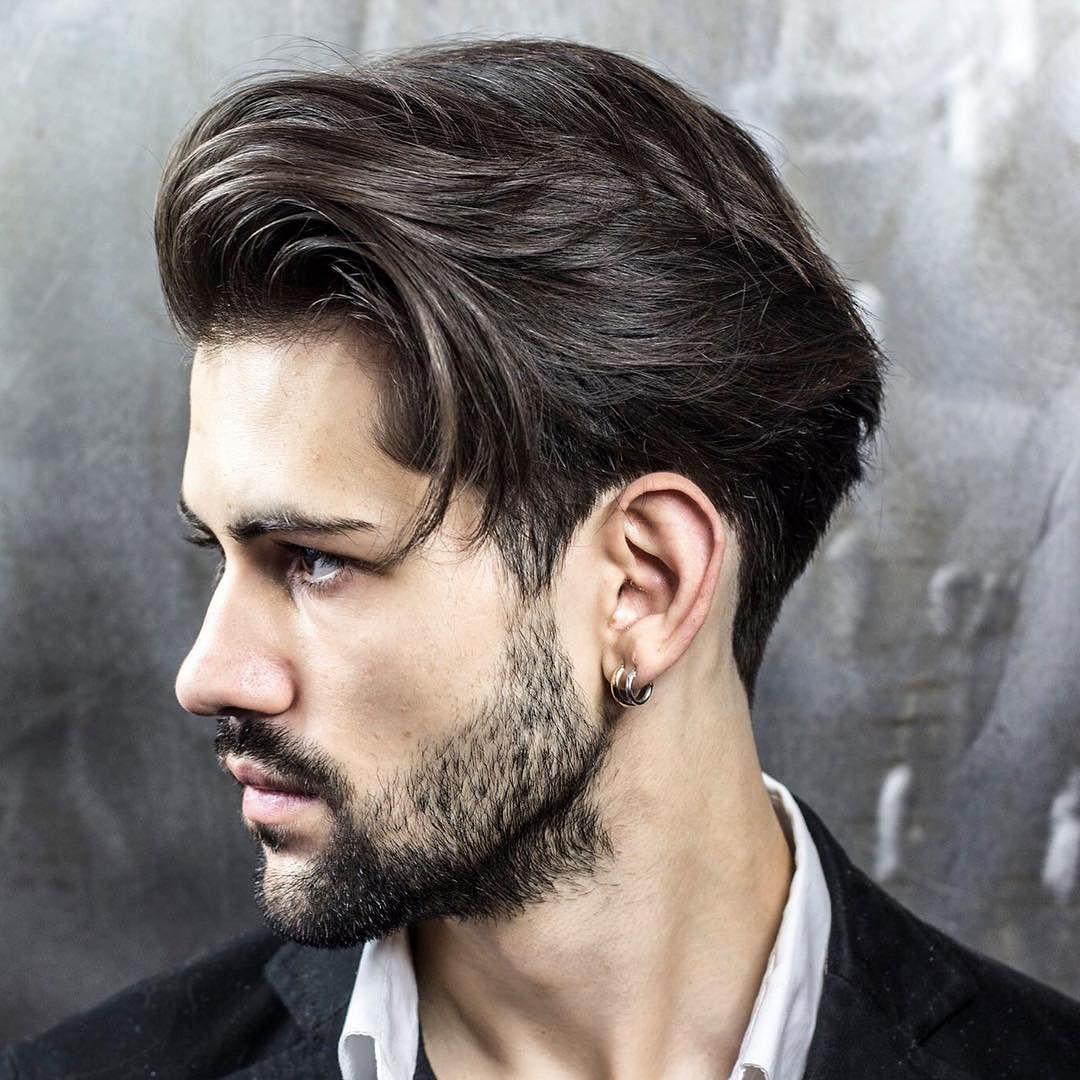 100 best mens hairstyles new haircut ideas longer mens hairstyle blown dry back urmus Choice Image