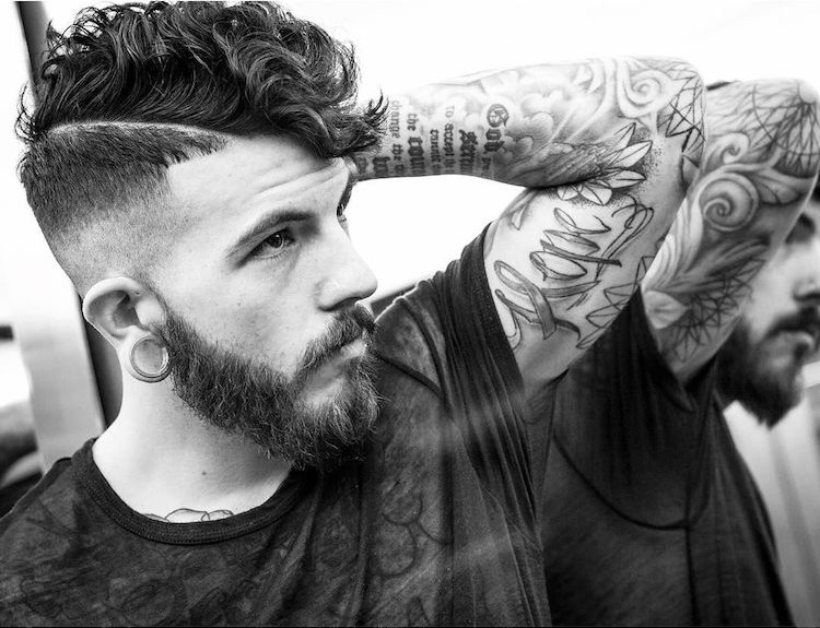 braidbarbers_curly hair undercut modern mens hairstyles