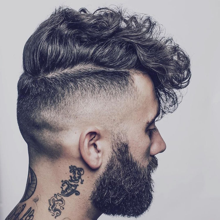 hearseyboy_and curly hair and high fade hairstyle