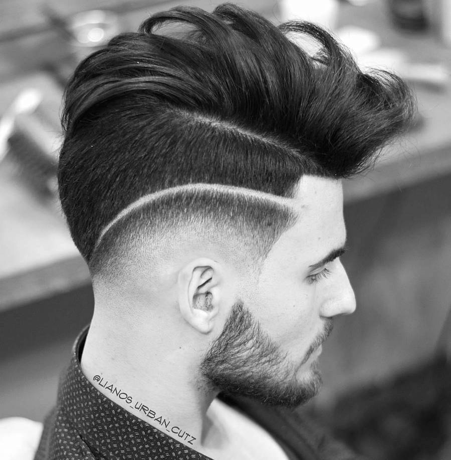 lianos_urban_cutz_and drop fade and surgical line