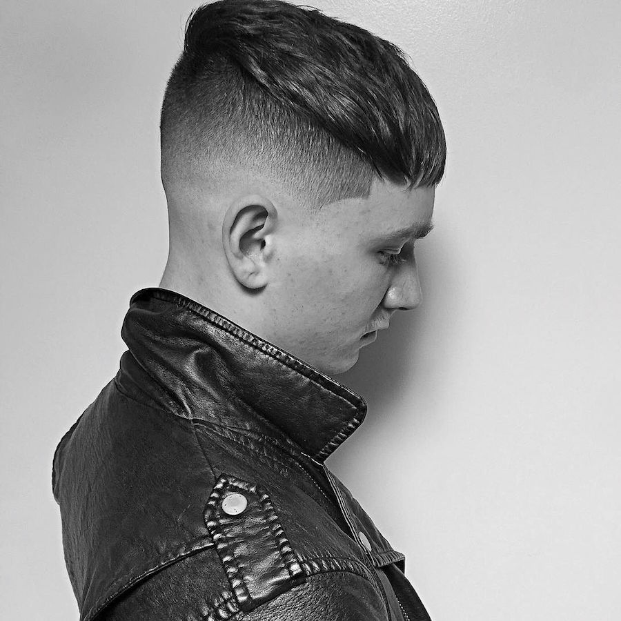 mikeyyyyyyy__and cool short hair crop hairstyle haircut