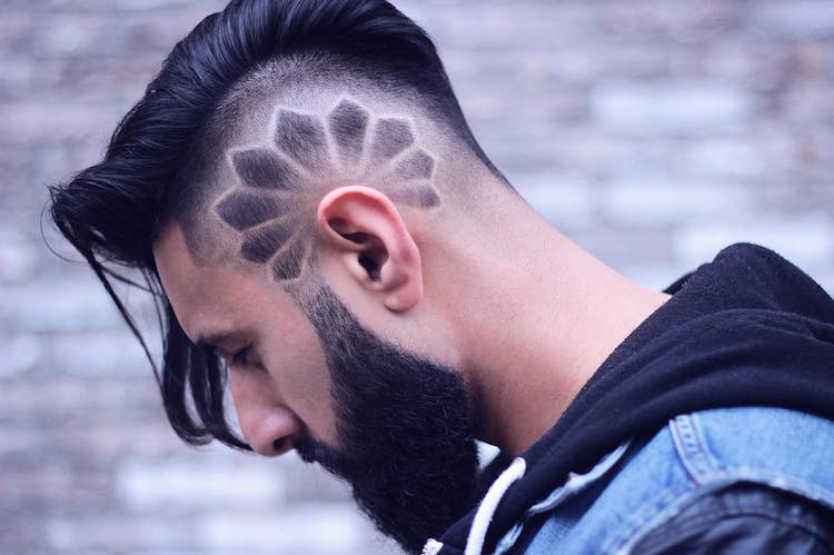 men's hairstyles modutch85_and_nayqueenoffades cool design and long hair undercut mens hairstyle