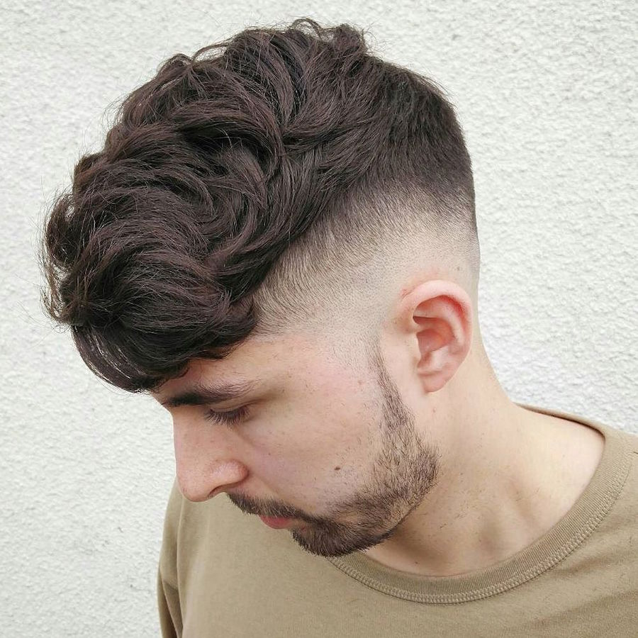 nicholas_the_greek_and skin fade and defused top mens hairstyle