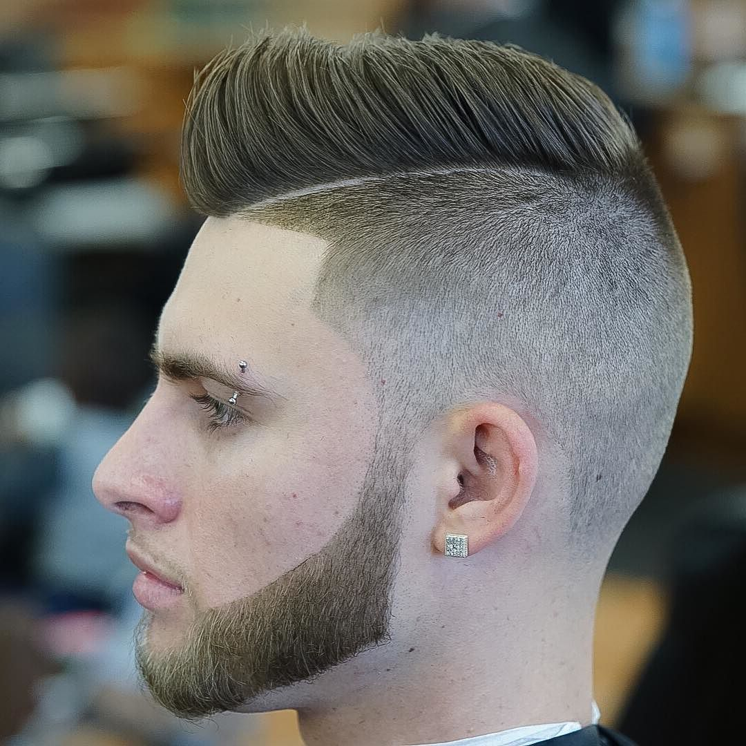 nickthebarber_and high fade pompadour mens haircut
