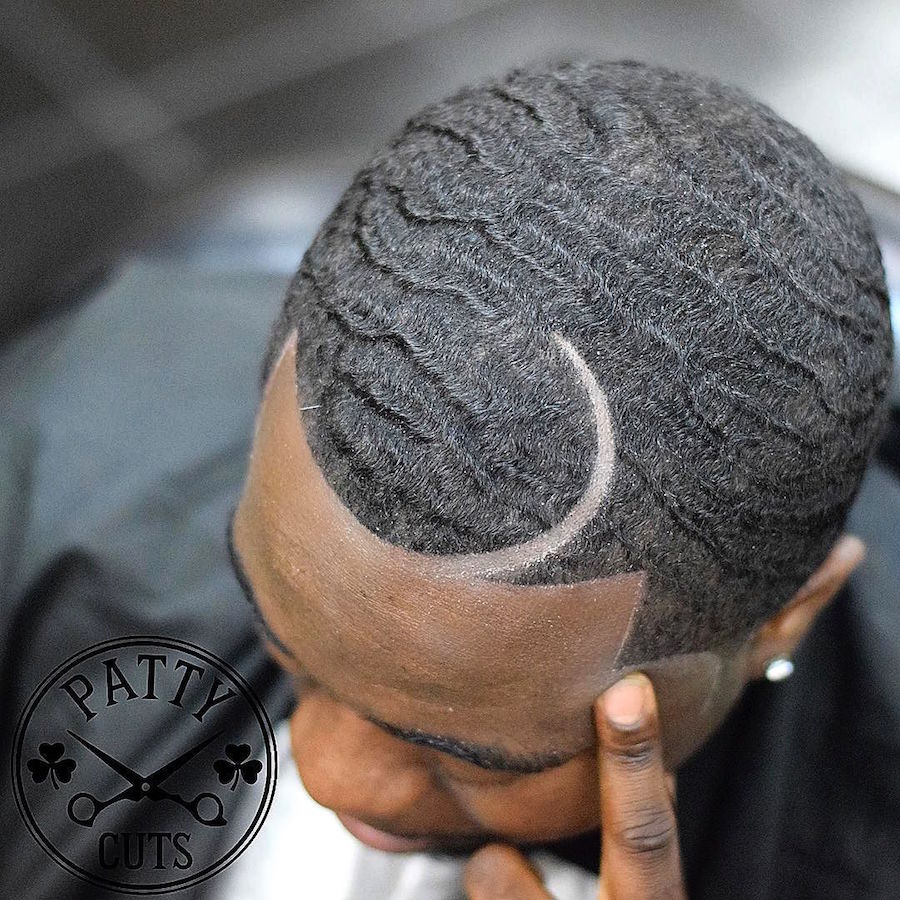 patty_cuts_and waves and curved hard part mens hair