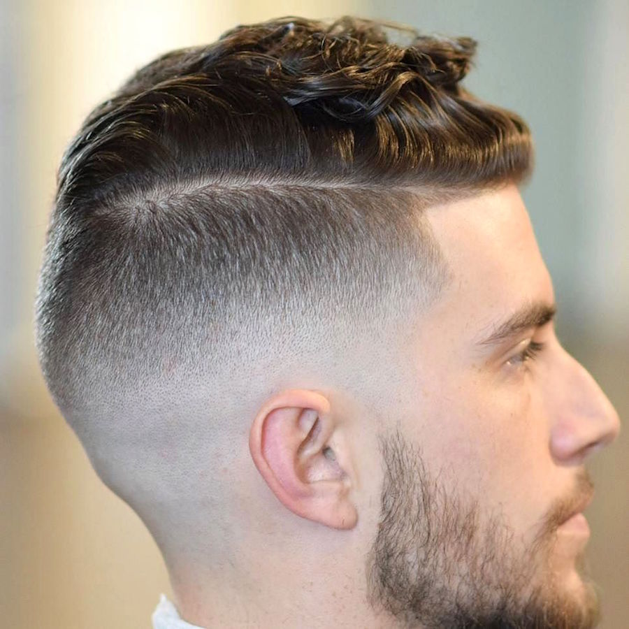 sirpaulcharles_and skin fade and natural waves men's hairstyles