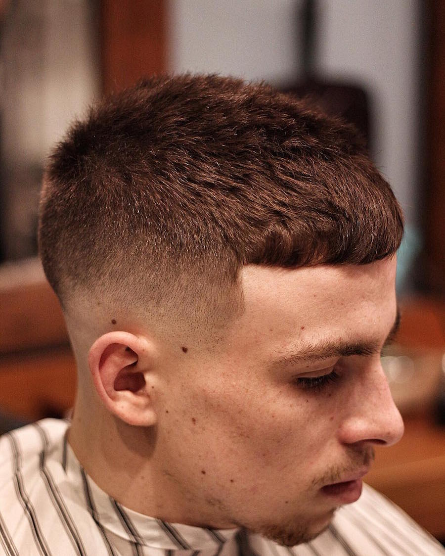 thegentlemanbarbers_and short crop popular hairstyle for men