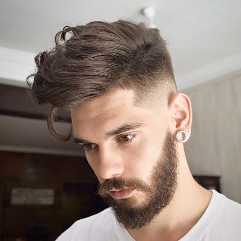 Virogasbarber Lo Fade Balded Long Hair On Top New Hairstyles For Men