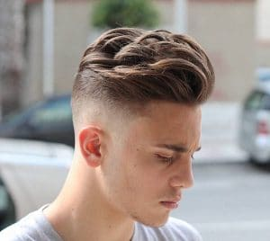 agusbarber__and cool mens haircut with movement on top