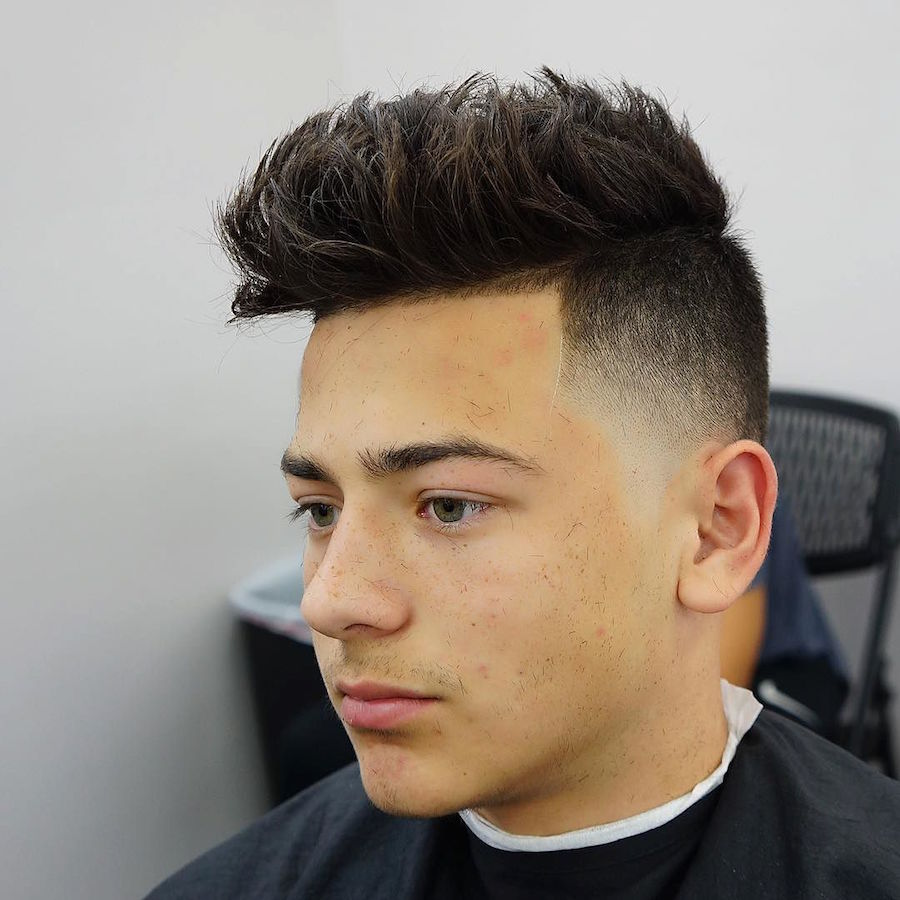 Hairstyles For Guys : ... Haircuts For Men With Shaved Sides moreover Cool Hairstyles For 9 Year