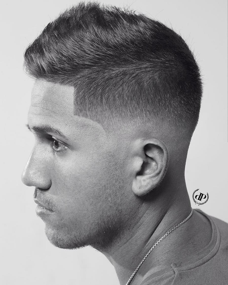 danperri_hair_and cool short mens haircut