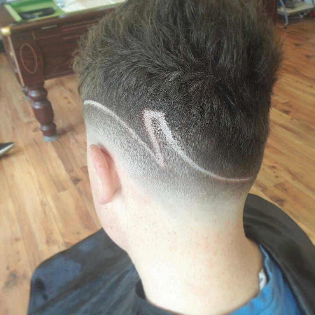 hair designs for fades - photo #41
