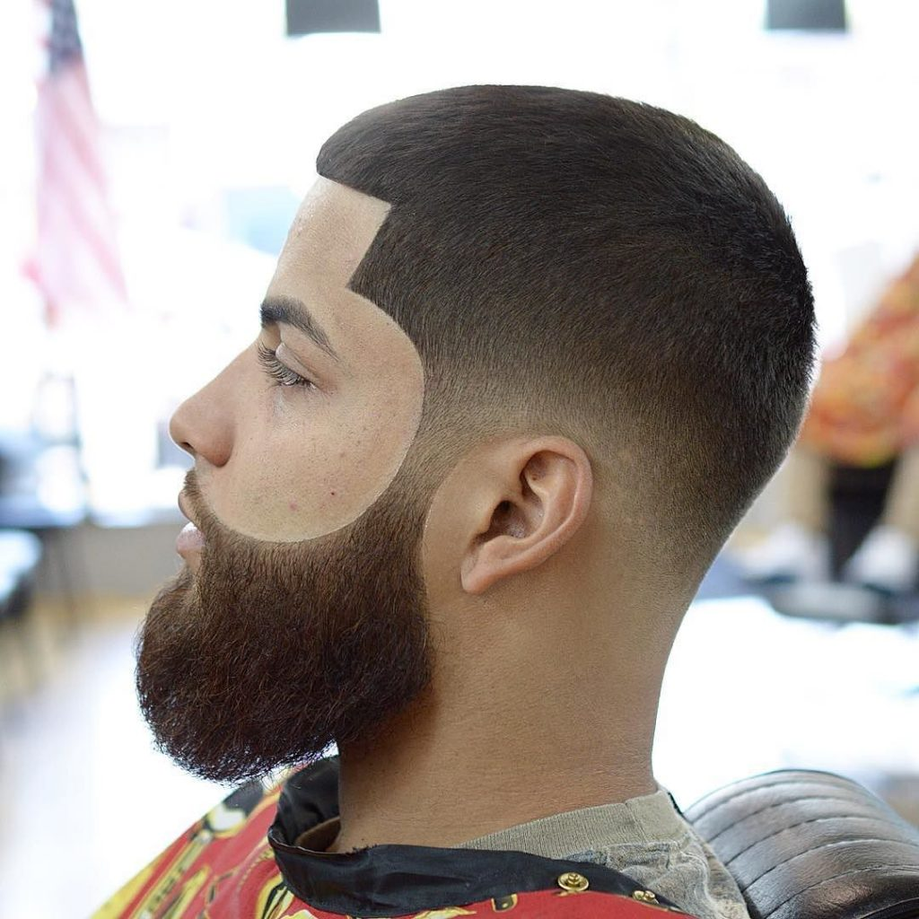 buzz cut and line up