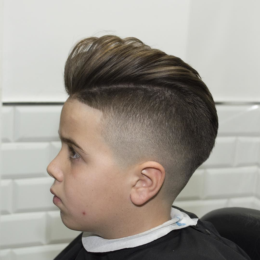 Cool Hairstyles For Boys now is the best time to take a look at the trendiest boys hairstyles and haircuts Javi_thebarber Pomp Fade For Boys