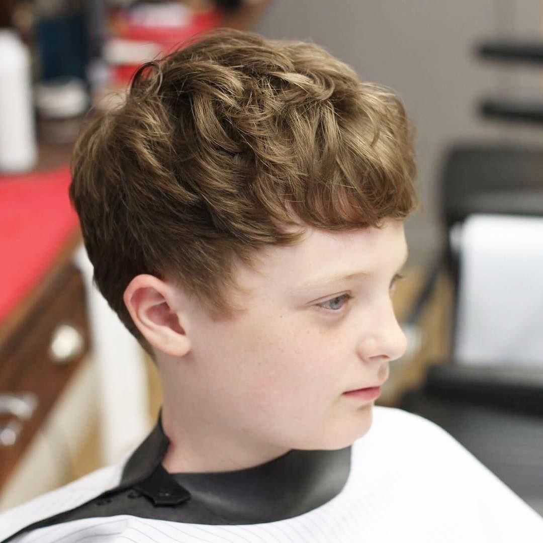 Фото причёсок у мальчиков