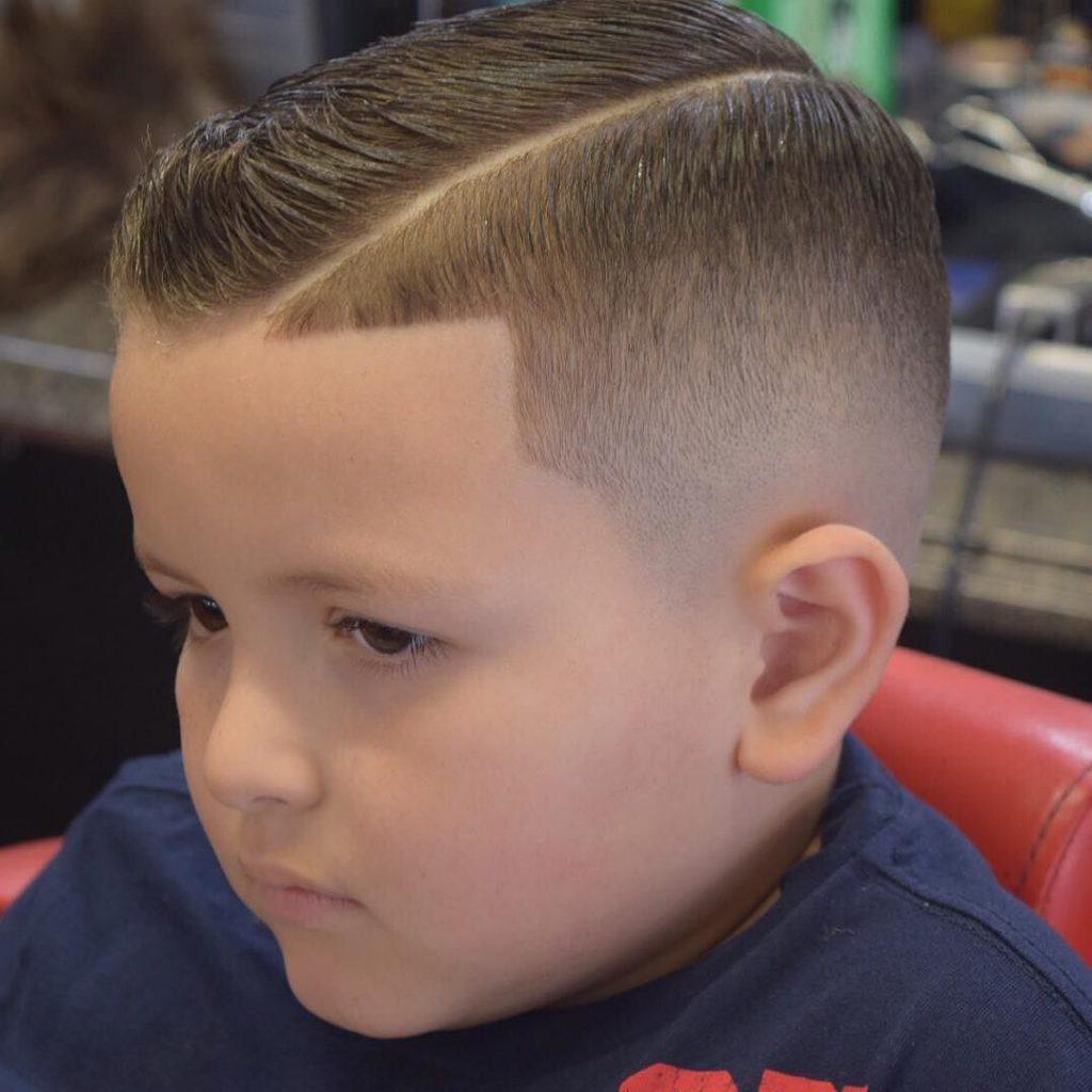 comb over boys haircut