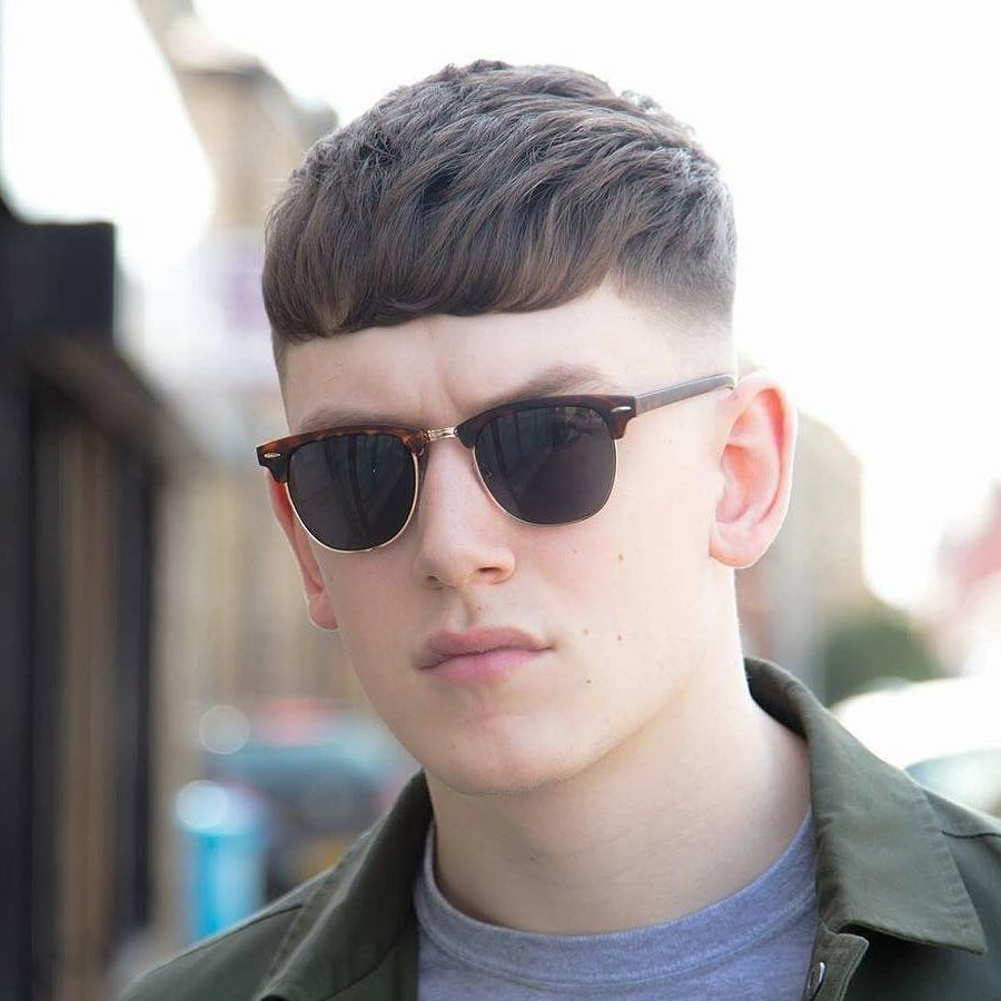Mens Hairstyles With Glasses New Hairstyles For Men 2016 The Textured Crop Mens Hairstyle