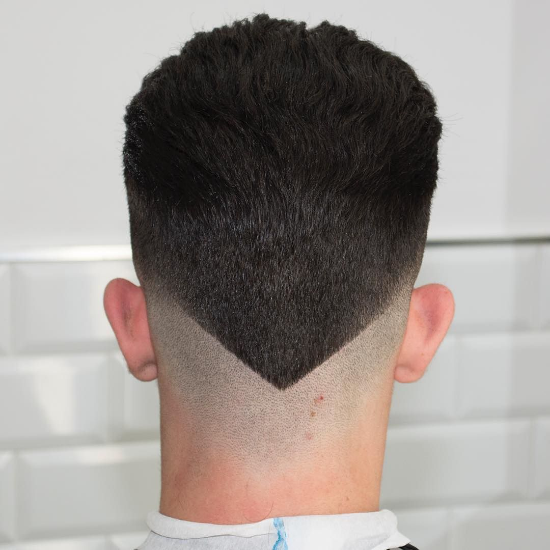 New Hairstyles for Men The V,Shaped Neckline