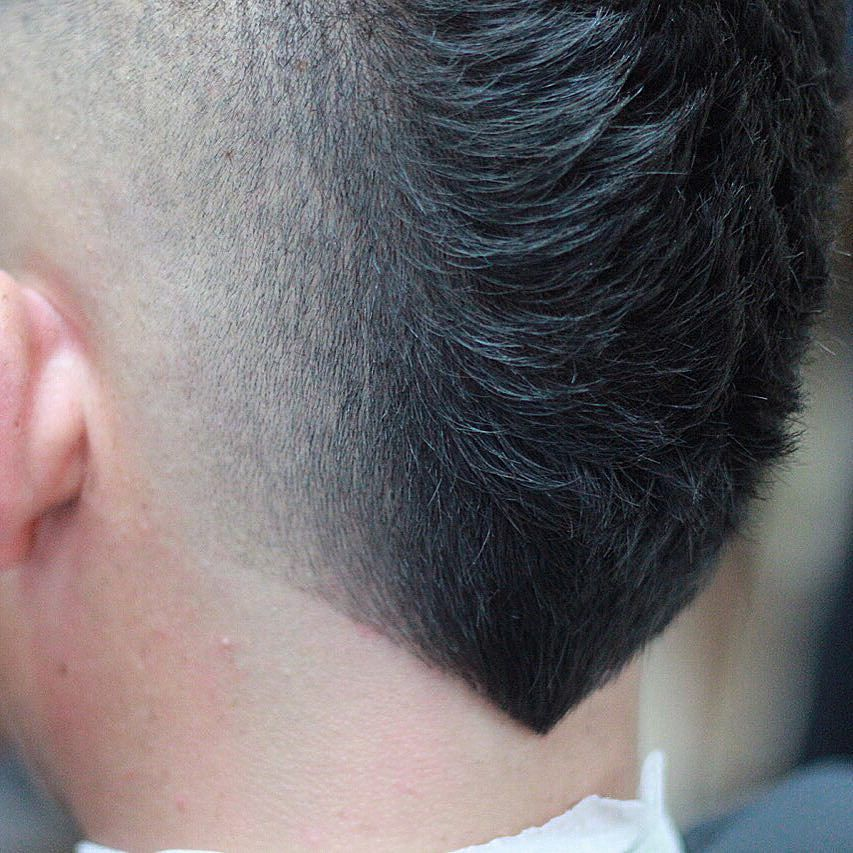 New Hairstyles For Men The V Shaped Neckline