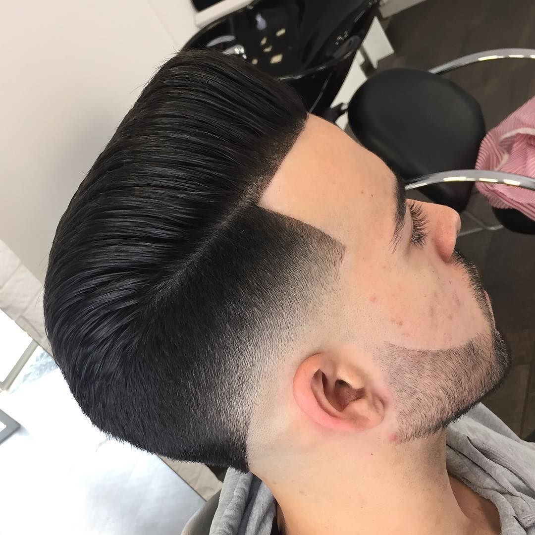 jose_pvlgbarbershop-hairstyles for thick hair men temple fade