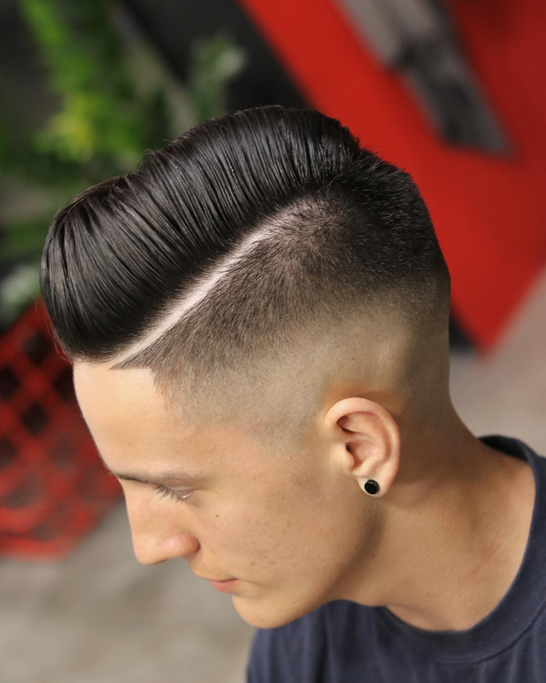 mens haircuts with lines hairstyles with lines for fade haircut 1307