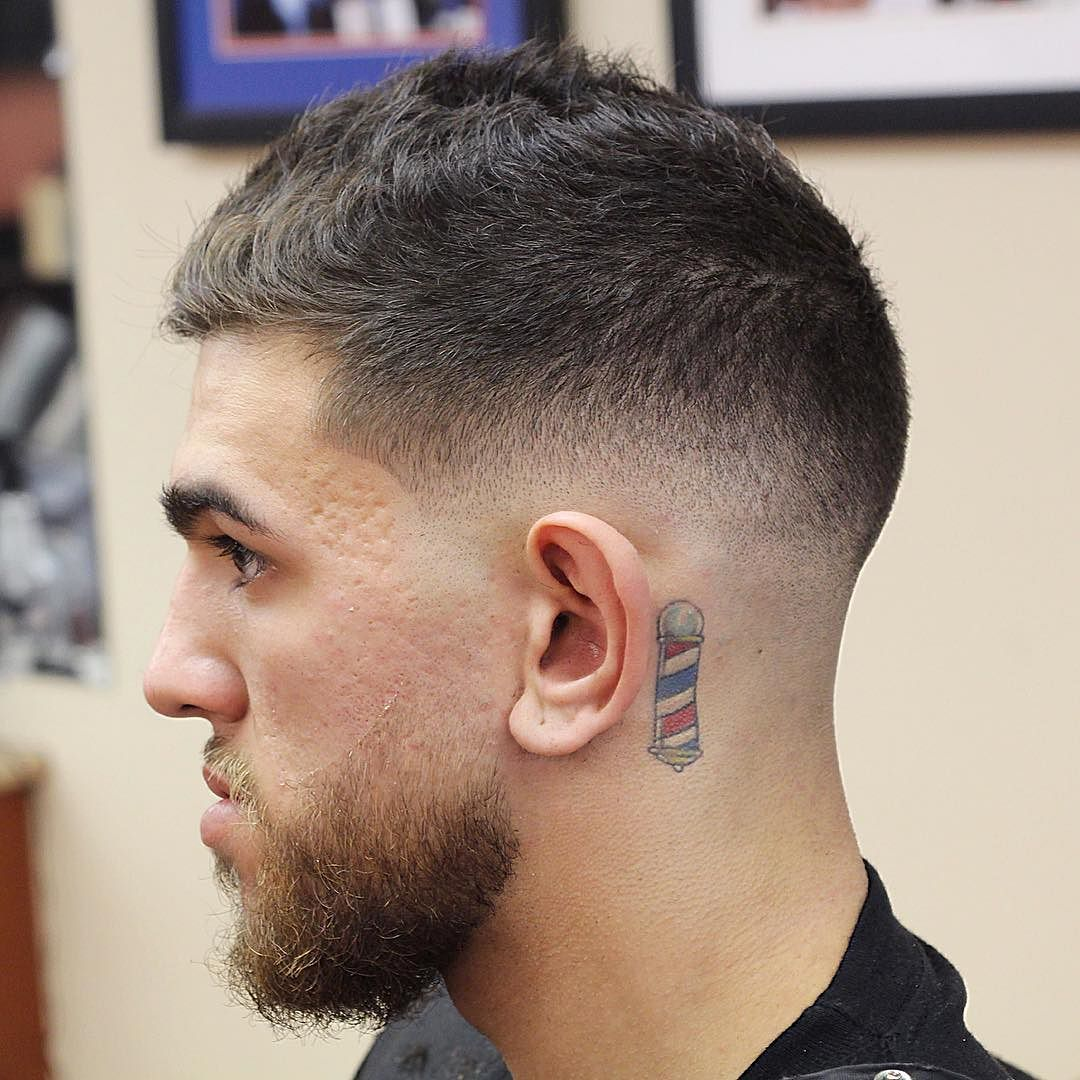 hort mens hair low fade