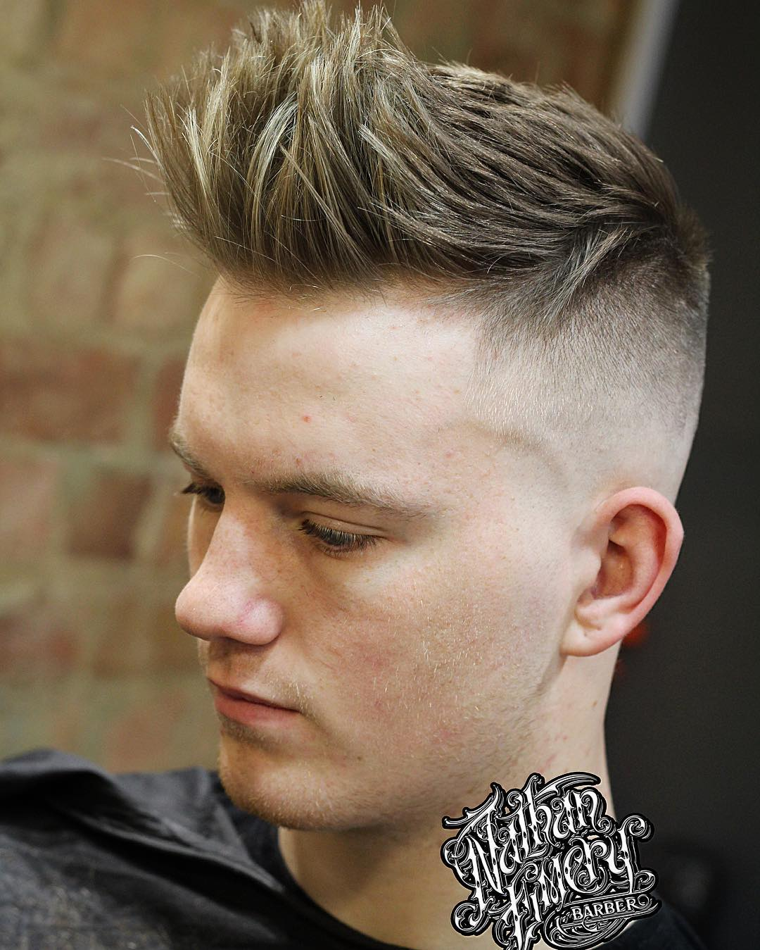 bitethythumb-Haircuts for Straight Hair Men Texture Skin Fade