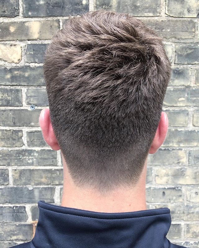 connorlangehair Neck Taper Natural Hairline