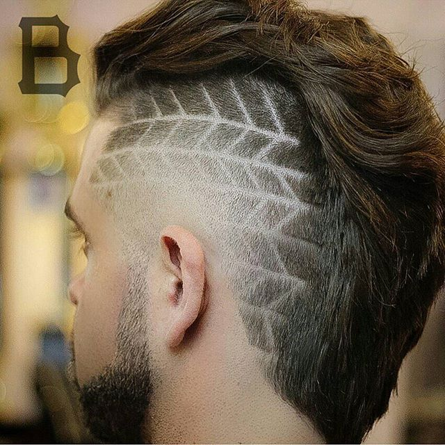 dynasty_barbers taper fade hair design