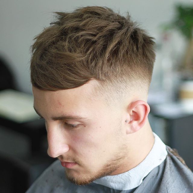 hudsonshair Mens Hair Trends 2016 Crop with Fringe