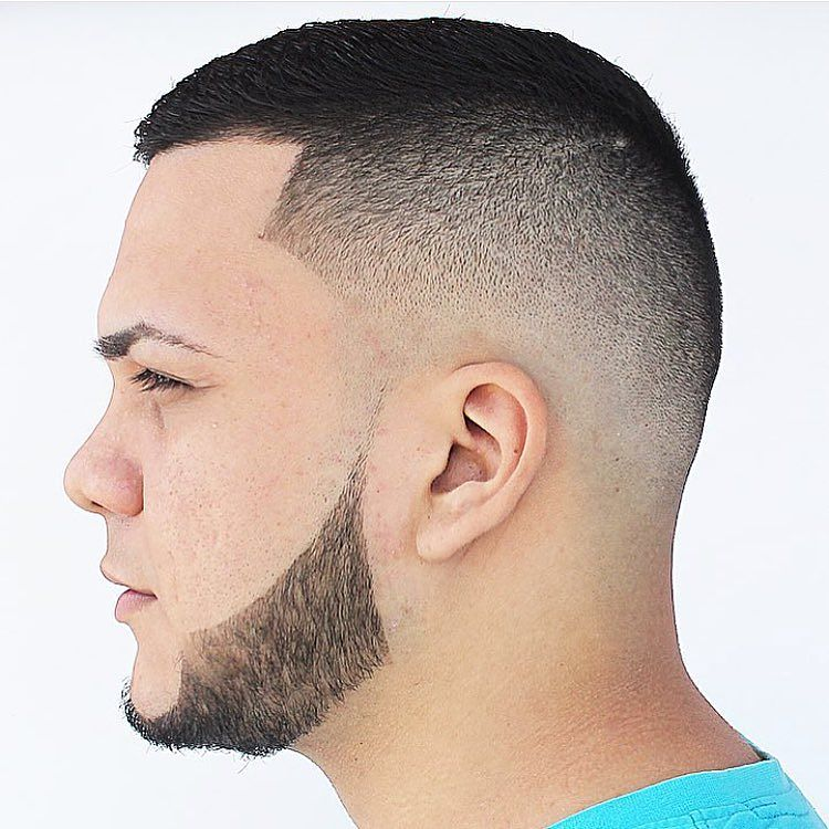 kings_style1-short hairstyles for men with beard