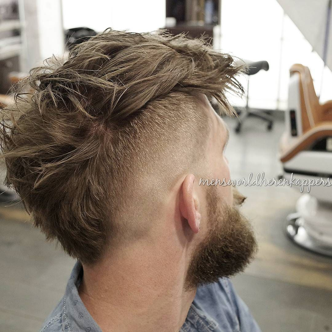 Wide Mohawk Fade Hairstylegalleries Com
