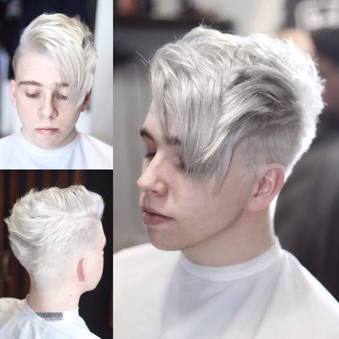 ryancullenhair-platinum-hair-men-different-hairstyles