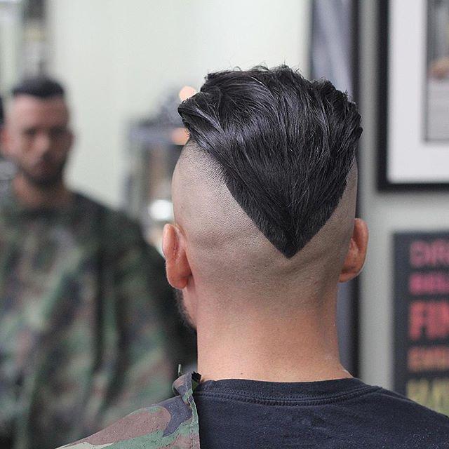 shawn_barbz Long Hair Undercut Vcut Hair