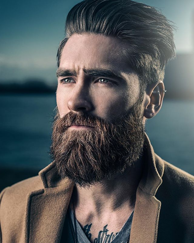 adamjosephchase natural pomp full beard