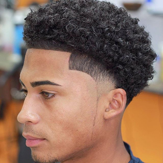 juanmisa7 Haircuts for Curly Hair Men LineUP