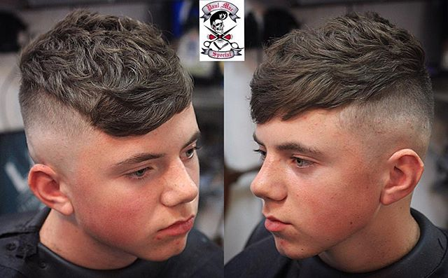 paulmacspecial Peaky Blinders Skin Fade Undercut Texture on TOp