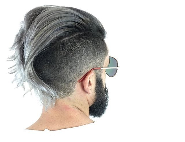 Long undercut cool hairstyle for men