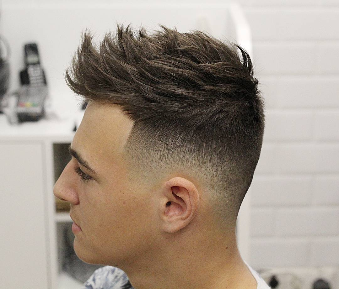 Wonderful Mid Fade Haircut