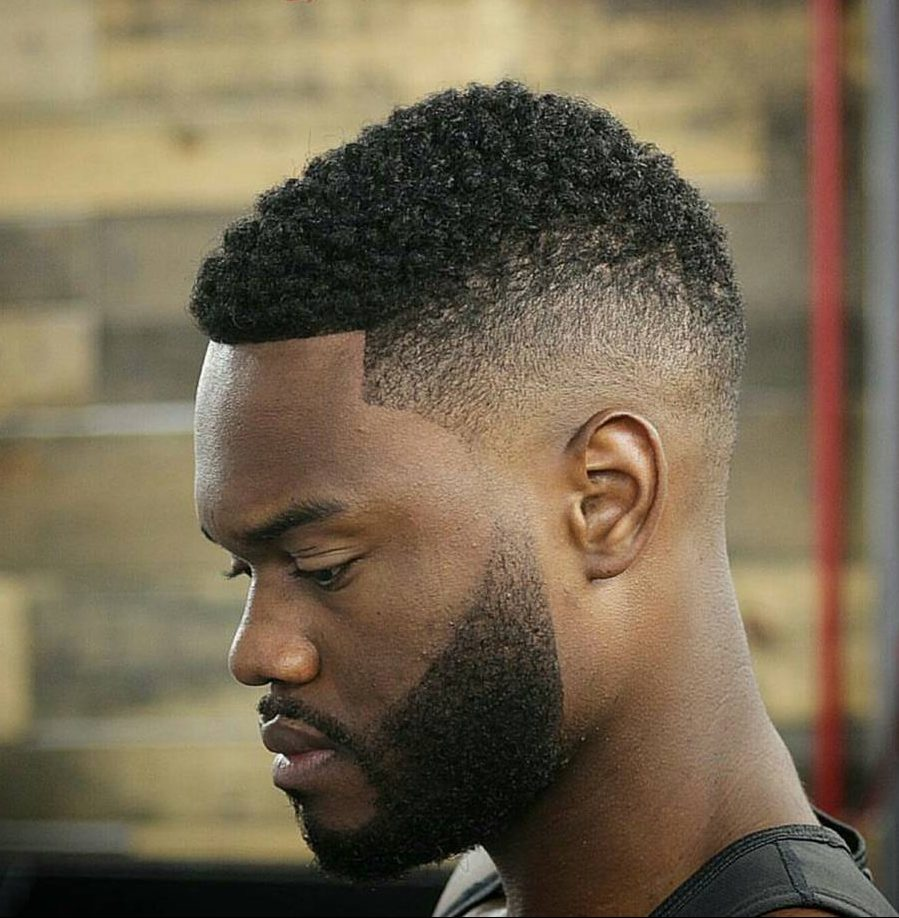 fade haircuts for black men 15 best haircuts for 1875 | dynasty barbers short hairstyles for men black hair burst fade e1474866378354