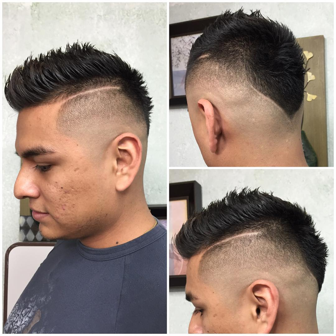 Galindo Luz Fauxhawk Fohawk With High Surgical Part