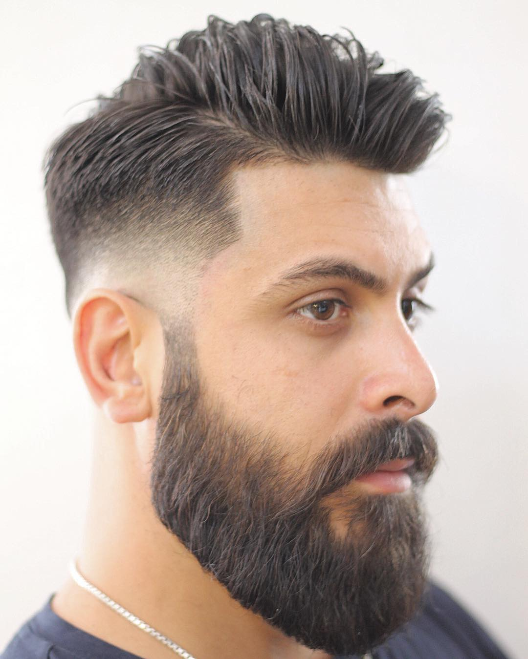 Mokumbarbers Hairstyles With Beard Low Taper Fade