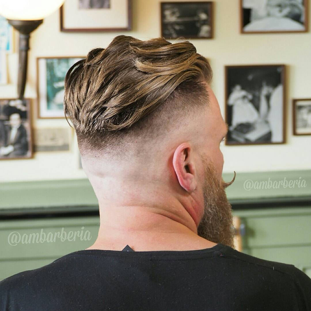long hair undercut back